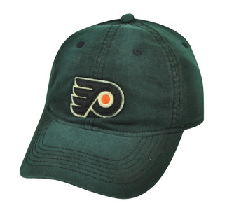NHL Reebok Philadelphia Flyers EM61 Flex Fit One Size Relaxed Hat Cap Black 2010
