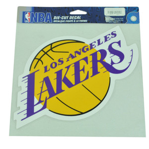 NBA Los Angeles Lakers Full Color Die Cut Decal Basketball Win Craft Sport 8x8