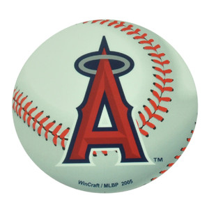 MLB Los Angeles Angels Die Cut Magnet Baseball Removable Reusable Win Craft