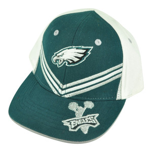 NFL Philadelphia Eagles Cheer Team Toddler Adjustable Velcro Football Hat Cap