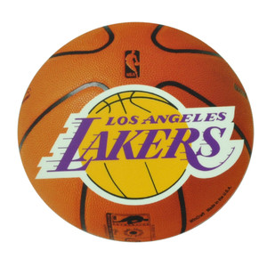 NBA Los Angeles Lakers Die Cut Magnet Fridge Basketball Removable Reusable LA