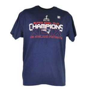 NFL New England Patriots 2015 Super Bowl XLIX Champions Choice Tshirt Tee