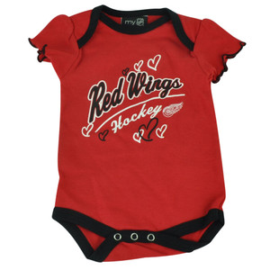 NHL Detroit Red Wings Owl Creek Infant Bodysuit Baby New Born Creeper