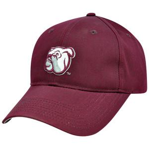 NCAA Mississippi State Bulldogs Constructed Velcro Hat Cap Mascot Logo Medium