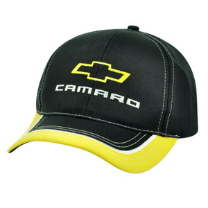 General Motors Chevrolet Camaro Chevy Velcro GM Car Automobile Hat Cap Adjustable