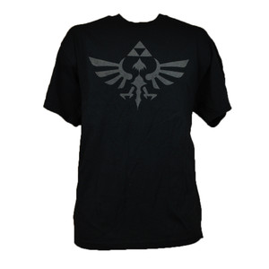 The Legend Of Zelda Skyward Sword Logo Authentic Nintendo Game T-shirt Black