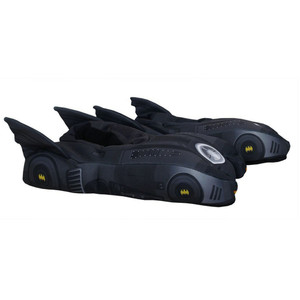 DC Comics Batman Dark Knight Batmobile 3D Slippers Sleep Footwear Hero