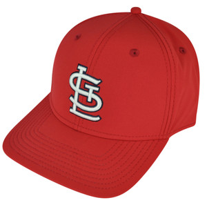 MLB American Needle St Louis Cardinals Velcro Hat Cap Technocrat Relaxed Red