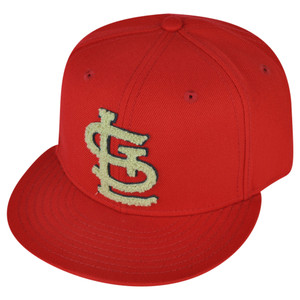 MLB American Needle St Louis Cardinals Flat Bill Red Snapback Hat Cap Sports