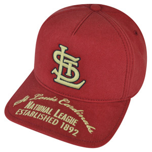 MLB American Needle St Louis Cardinals Est 1892 Snapback Hat Cap Red Sports