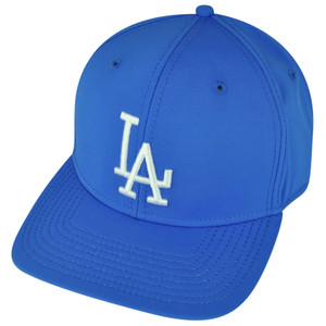 MLB American Needle Los Angeles Dodgers Velcro Hat Cap Technocrat Relaxed Blue