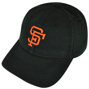 MLB American Needle San Francisco Giants Clip Buckle Black Relaxed Hat Cap Sport