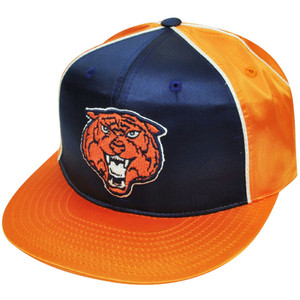 MLB American Needle Detroit Tigers Satin Feel Fitted Two Tone Snaz 7 1/4 Hat Cap