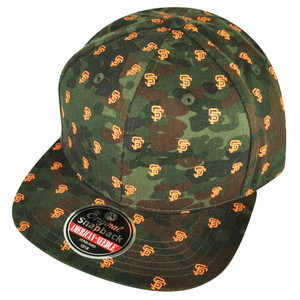 MLB American Needle San Francisco Giants Camouflage Logo Sun Buckle Hat Cap Camo