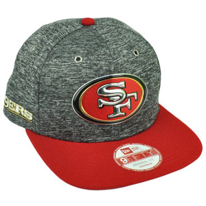 NFL New Era 9Fifty 2016 Draft Heather Gray San Francisco 49ers Snapback Hat Cap