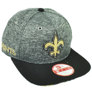 NFL New Era 9Fifty 2016 Draft Heather Gray New Orleans Saint Snapback Hat Cap