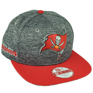 NFL New Era 9Fifty 2016 Draft Heather Gray Tampa Bay Buccaneers Snapback Hat Cap