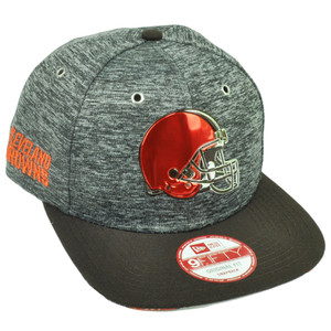 NFL New Era 9Fifty 950 2016 Draft Heather Cleveland Browns Snapback Hat Cap Sport