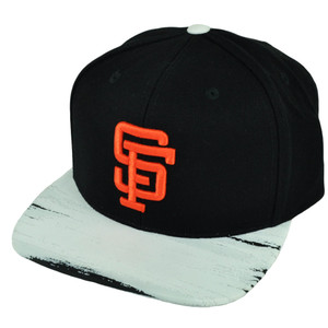 MLB American Needle San Francisco Giants Paint Stroke Snapback Hat Cap Flat Bill