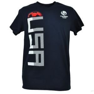 Copa America Centenario USA 2016 United States Tshirt Tee Soccer Futbol Game Navy