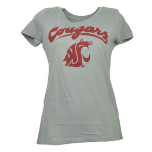 NCAA Washington State Cougars Crew Neck XSmall Tshirt Tee Womens Short Sleeve