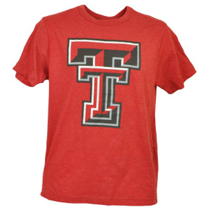 NCAA Texas Tech Red Raiders Tshirt Tee Short Sleeve Mens Adult Crew Neck Sports