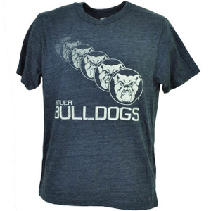 NCAA Butler Bulldogs Repeat Logo Navy Blue Tshirt Tee Mens Short Sleeve Sports