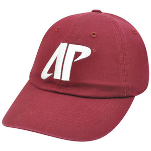 NCAA Austin Peay Governors Govs Sun Buckle Garment Wash Curved Bill Red Hat Cap
