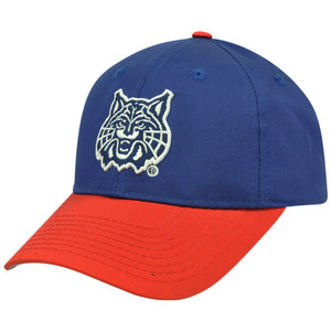 NCAA Arizona Wildcats Constructed Velcro Cotton Hat Cap Mascot Logo Adult Medium