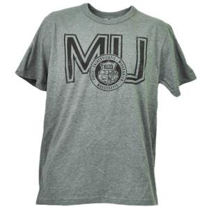 NCAA Missouri Tigers MU Crew Neck Short Sleeve Mens Adult Tshirt Tee Gray Sports