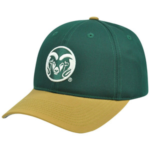 NCAA Colorado State Rams Mascot Logo Adult Small Adjustable Velcro Hat Cap