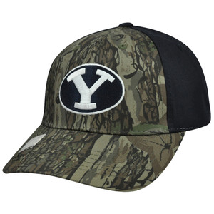 NCAA Brigham Young Cougars Freshman Camouflage Adjustable Curved Bill Hat Cap