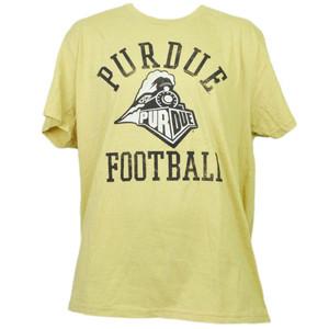NCAA Purdue Boilermakers Mustard Short Sleeve Tshirt Tee XLarge Mens Adult Sport
