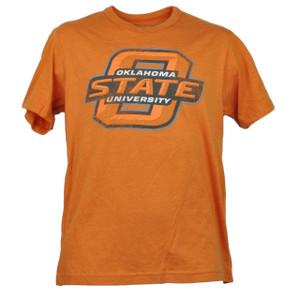 NCAA Oklahoma State Cowboys Orange Small Tshirt Tee Short Sleeve Mens Sports