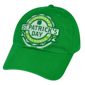 American Crown Saint Patricks Day Honorary Irish Rogue  Ireland Hat Cap