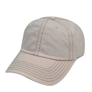 American Needle Light Pink Ladies Womens Blank Plain Relaxed Sun Buckle Hat Cap