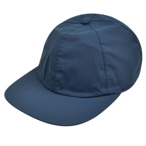 American Needle Blue Nylon Hat Cap Relaxed Blank Plain Flexible Sun Buckle