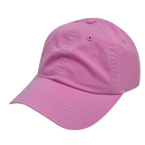 American Needle Fuchsia Ladies Womens Blank Plain Relaxed Sun Buckle Hat Cap