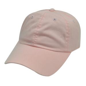 American Needle Pink Ladies Womens Blank Plain Solid Hat Cap Leaf Under Visors
