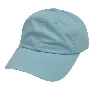 American Needle Baby Blue Ladies Fit Womens Relax Blank Plain Solid Hat Cap
