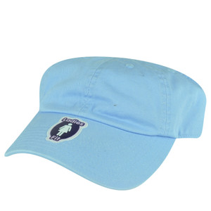 American Needle Sky Blue Ladies Fit Womens Blank Half Head Solid Hat  Cap