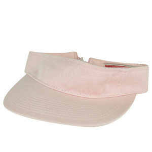 American Needle Flexible Pale Pink Blank Solid Color Sports Sun  Visor Hat