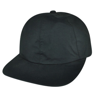 American Needle Charcoal Black Plain Sun Buckle Relaxed Hyphora Sports Hat Cap