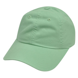 American Needle Mint  Ladies Fit Womens Slouch Relaxed Blank Plain Solid Hat Cap