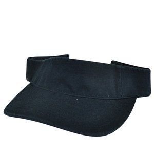 American Needle Midnight Blue Blank Solid Color Sports Sun Navy  Visor Hat