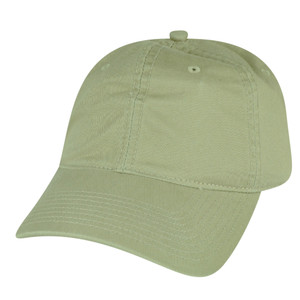American Needle Khaki Tan Relaxed Blank Plain Sun Buckle Solid Hat Slouch Cap