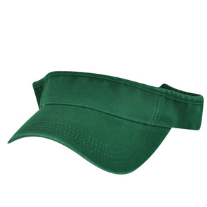 American Needle Dark Forest Green Blank Solid Color Sports Sun  Visor Hat