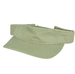 American Needle Tan Flexible Khaki Blank Solid Color Sports Sun  Visor Hat