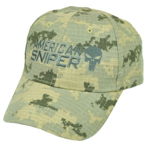 American Sniper Camouflage Camo Hat Cap  Support Kyle Navy Seal Skull War