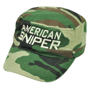 American Sniper Cadet Fatigue Camouflage Camo Hat Cap  War Relaxed Support